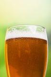Zbliżenie piwny kubek Obraz Stock