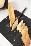 Zbliżenie pokrojony chleb zdjęcia stock