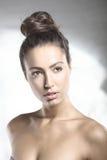 Zbliżenie portret naturalny piękno Fotografia Royalty Free