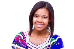 Afro amerykanina dziewczyna Obrazy Stock