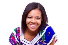 Afro amerykanina dziewczyna Obrazy Royalty Free