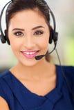 Centrum telefoniczne pracownik Obraz Royalty Free