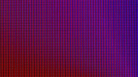 Zbliżenie PROWADZIŁ światło żarówki diodę od DOWODZONEGO TV lub PROWADZIŁ monitoru ekranu pokazu panelu Zdjęcie Stock