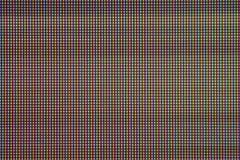 Zbliżenie PROWADZIŁ światło żarówki diodę od komputerowego monitoru ekranu Fotografia Royalty Free