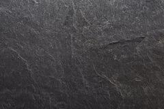 Tło tekstura, czerń łupek Zdjęcia Stock
