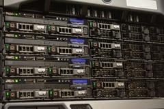 Zbliżenie serwer zdjęcia stock