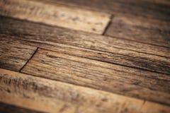 Zbliżenie szczegół stary brudny drewno stół obraz royalty free