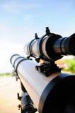 Zbliżenie teleskop zdjęcie stock