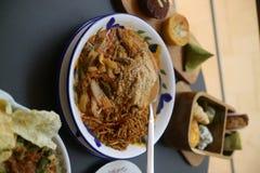 Zbliżenie tradycyjny bliskowschodni jedzenie w białym talerzu zdjęcia royalty free