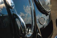 Zbliżenie Volkswagen ścigi samochodu klasyczny przód obraz royalty free