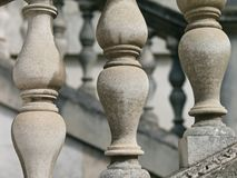 Zbliżenie włoszczyzna stylu Palladian balustrada zdjęcie stock