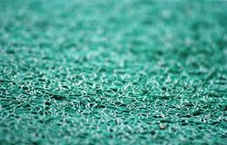 Zbliżenie widok błękitny dywan Zdjęcia Royalty Free