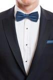 Zbliżenie z kostiumem, koszula i łęku krawatem, Fotografia Royalty Free