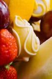 Zbliżenie zakrywający z kolor czekoladą melon Obraz Royalty Free