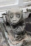 Zbliżenie zwierzęca statua przy Watem Pho, świątynia w Bangkok Fotografia Stock