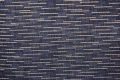 Zbliżenia czerni lub zmroku koloru tkaniny popielata tekstura Paska linii zmroku popielaty, czarni tkanina wzoru projekt, lub tap Zdjęcie Royalty Free
