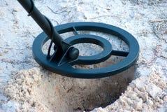 zbliżenia detektoru metal Zdjęcie Royalty Free