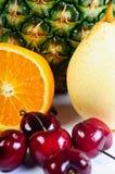 zbliżenia kolekci owoc Zdjęcie Royalty Free