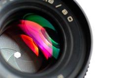 zbliżenia obiektywu fotografii profesjonalista Fotografia Stock