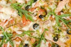 zbliżenia obrazka pizza Zdjęcia Stock