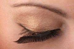 zbliżenia oka kobieta Obraz Stock