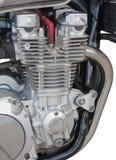 zbliżenia silnika motocykl Fotografia Royalty Free