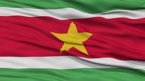Zbliżenia Suriname flaga Obraz Stock