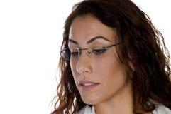 zbliżenia twarzy kobieta fotografia stock