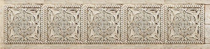 Zbliżenie architektoniczny ornament Zdjęcie Royalty Free