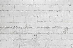 Zbli?enie bielu gnicia ?ciany z cegie? t?a abstrakcjonistyczna tapeta lub sie? sztandar z kopii przestrzeni? zdjęcia stock