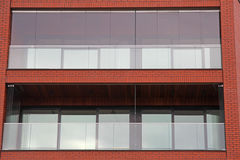 Zbliżenie ceglany mieszkanie Fotografia Stock