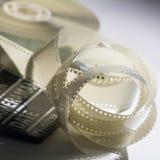Zbliżenie cewa film w filmu clapper dla ekranowy pro i Obrazy Royalty Free