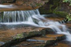 zbliżenie creek zagubiony spadków górne Obrazy Stock