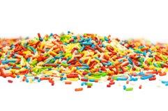 Zbliżenie cukrowi pasemka Fotografia Stock