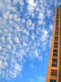 zbliżenie drapacz chmur Fotografia Royalty Free