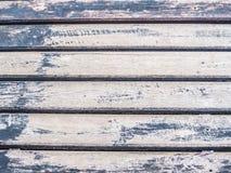Zbliżenie drewniany horyzontalnych linii wzór Obrazy Stock