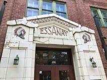 Zbliżenie, Essanay studia, Chicago, Illinois Obraz Stock