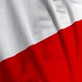 zbliżenie flagi shine Zdjęcie Stock