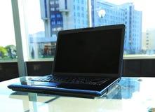 Zbliżenie fotografia laptop Fotografia Royalty Free