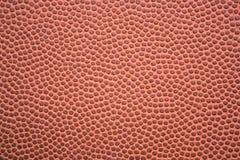 zbliżenie futbol textured Obrazy Royalty Free