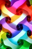 Zbliżenie kolorowy lampion Fotografia Stock