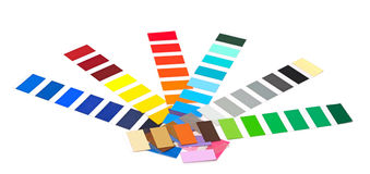 Zbliżenie koloru przewdonik Obraz Stock
