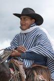 Zbliżenie kowboj od Andes Ekwador Zdjęcia Royalty Free