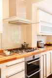 zbliżenie kuchnia Zdjęcia Royalty Free