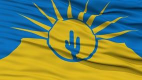 Zbliżenie mesy miasta flaga Obraz Royalty Free