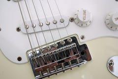 zbliżenie na gitarze obrazy stock