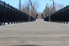 Zbliżenie odprowadzenie most Obrazy Stock