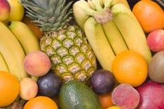 zbliżenie owoców zmieszana Obraz Stock