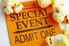 zbliżenie popcorn Fotografia Stock