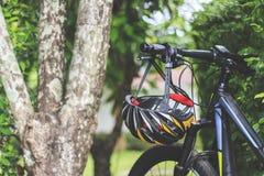 Zbliżenie rower górski Obrazy Royalty Free